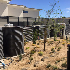 Onsite Stormwater Detention Tanks at DutchCare