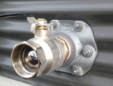 50mm Metal Outlet and Ball Valve – Standard Fitting