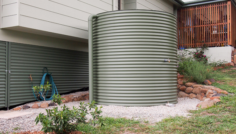 Getting ready for your new water tank