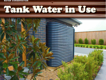 Tank water in use