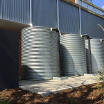 saving water with water tanks